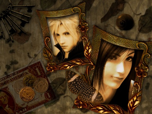 Square Enix, Final Fantasy VII: Advent Children, Tifa Lockhart, Cloud Strife Wallpaper