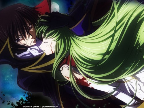 Takahiro Kimura, Lelouch of the Rebellion, C.C., Lelouch Lamperouge Wallpaper