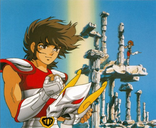 Masami Kurumada, Toei Animation, Saint Seiya, Aquila Marin, Pegasus Seiya