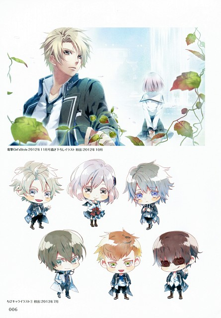 Teita, Idea Factory, NORN9 Official Fan Book, NORN9, Natsuhiko Azuma