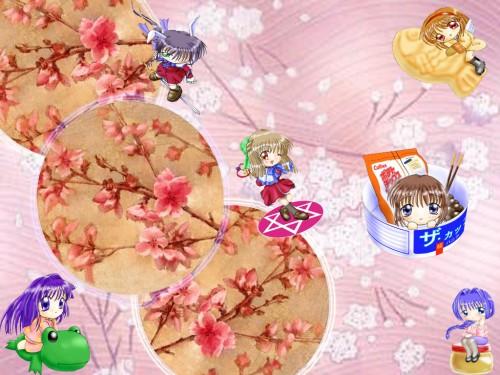 Key (Studio), Kanon, Akiko Minase, Shiori Misaka, Sayuri Kurata Wallpaper