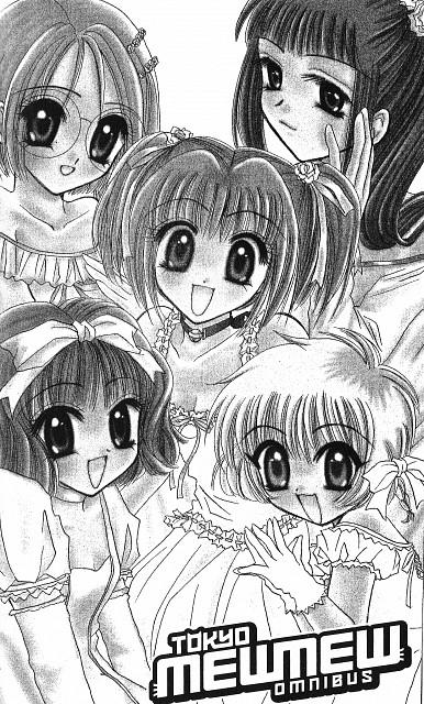 Mia Ikumi, Tokyo Mew Mew, Zakuro Fujiwara, Pudding Fong, Mint Aizawa