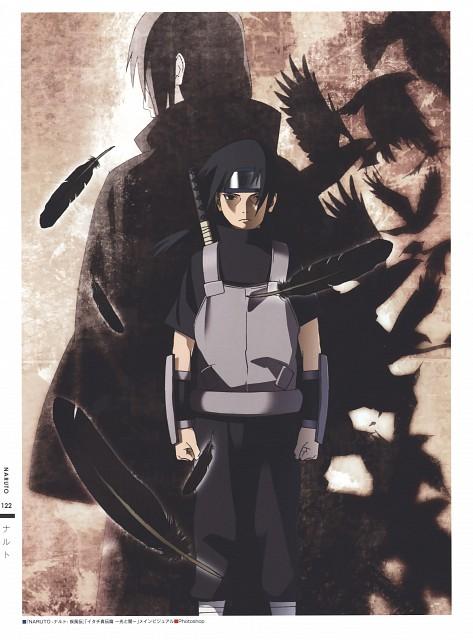 Naruto, The Art of Tetsuya Nishio: Full Spectrum, Itachi Uchiha, Sasuke Uchiha