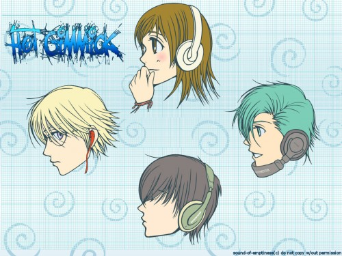 Miki Aihara, Hot Gimmick, Hatsumi Narita, Shinogu Narita, Azusa Odagiri Wallpaper