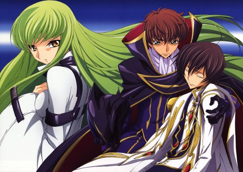 Hisayuki Tabata, Takahiro Kimura, Sunrise (Studio), Lelouch of the Rebellion, Code Geass Illustrations Relation