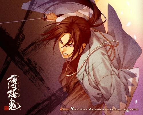 Yone Kazuki, Idea Factory, Hakuouki Shinsengumi Kitan, Toshizou Hijikata (Hakuouki), Official Wallpaper