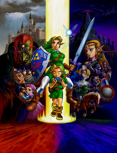 Nintendo, The Legend of Zelda: Ocarina of Time, The Legend of Zelda, Sheik, Navi