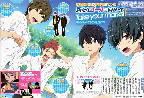 Futoshi Nishiya, Kyoto Animation, Free!, Ikuya Kirishima, Nao Serizawa