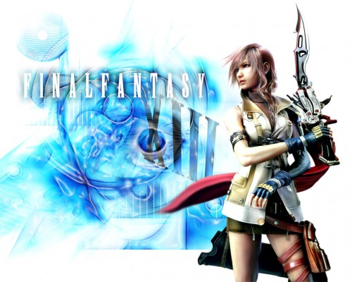 Square Enix, Final Fantasy XIII, Lightning (FF XIII) Wallpaper