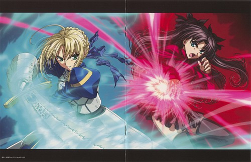 TYPE-MOON, Studio Deen, Fate/stay night, Rin Tohsaka, Saber