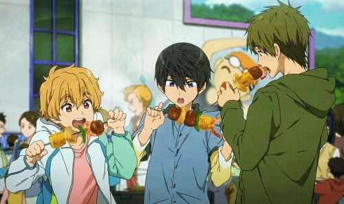 Kyoto Animation, Free!, Makoto Tachibana, Haruka Nanase (Free!), Gorou Sasabe