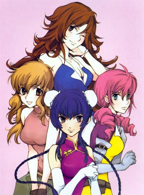 Yun Kouga, Mobile Suit Gundam 00, Gundam 00 Yun Kouga Design Works, Sumeragi Lee Noriega, Christina Sierra