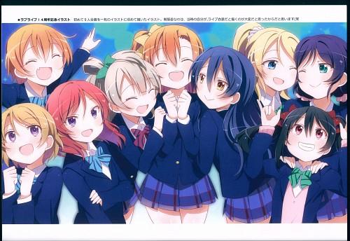 Tomoe Kitahara, Love Light Bringer!, Love Live! School Idol Project, Nozomi Tojo, Eri Ayase