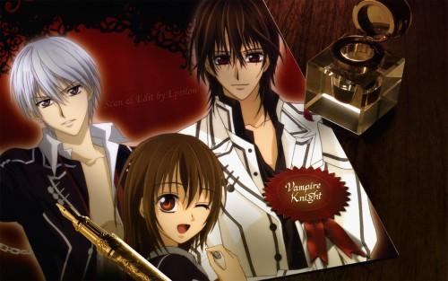 Matsuri Hino, Studio DEEN, Vampire Knight, Yuuki Cross, Zero Kiryuu Wallpaper