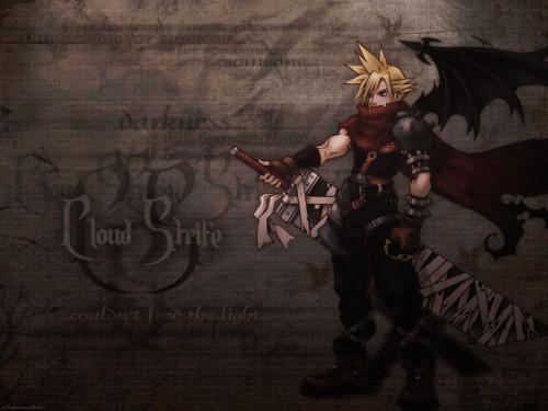 Square Enix, Kingdom Hearts, Cloud Strife Wallpaper