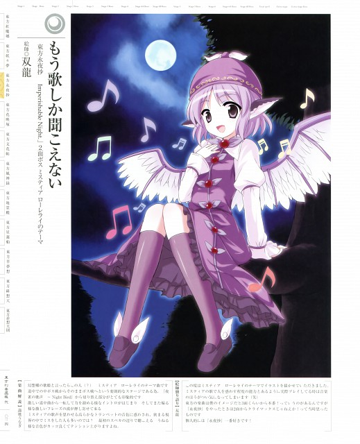 Double Dragon, Touhou Project Tribute Arts 2, Touhou, Mystia Lorelei
