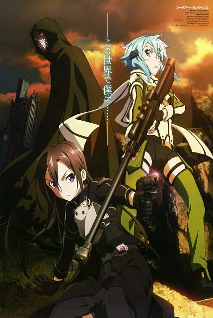 Natsuko Kondou, A-1 Pictures, Sword Art Online, Sinon, Shoichi Shinkawa