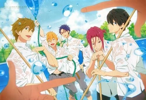 Taichi Ishidate, Kyoto Animation, Free!, Rei Ryuugazaki, Nagisa Hazuki