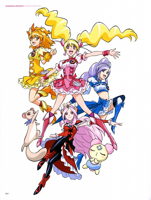 Toei Animation, Fresh Precure!, Hisashi Kagawa Toei Animation Precure Works, Cure Berry, Cure Peach
