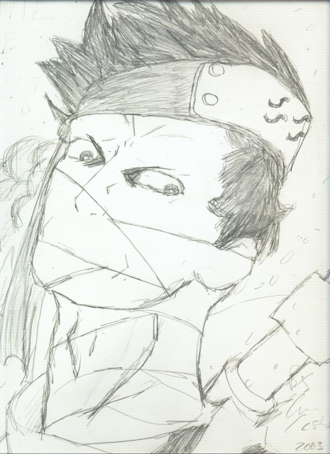 Studio Pierrot, Naruto, Momochi Zabuza, Member Art