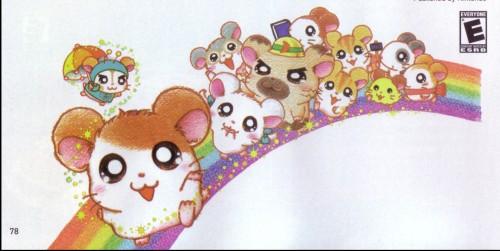 Ritsuko Kawai, TMS Entertainment, Hamtaro, Maxwell, Hamtaro (Character)