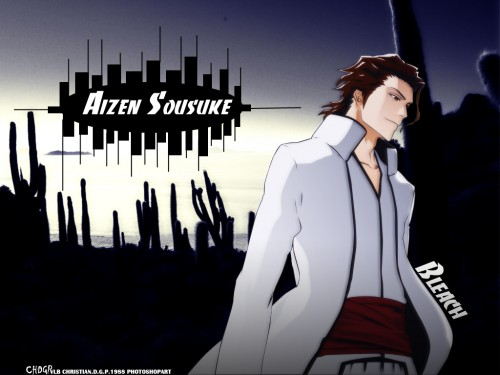 Kubo Tite, Studio Pierrot, Bleach, Sousuke Aizen Wallpaper