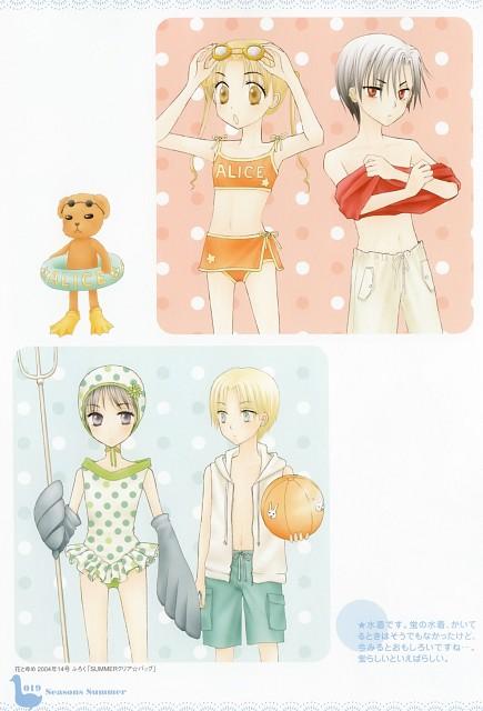Tachibana Higuchi, Group TAC, Gakuen Alice, Gakuen Alice Illustration Fan Book, Mr. Bear