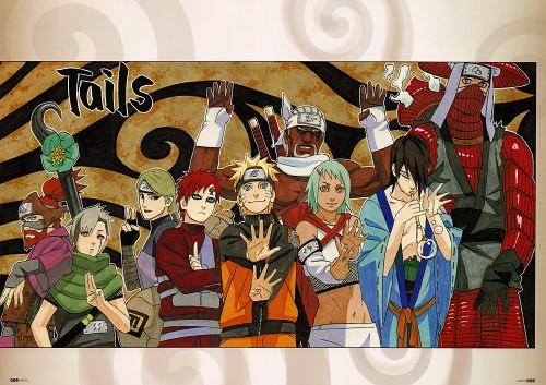 Masashi Kishimoto, Naruto, NARUTO Illustrations, Utakata, Gaara