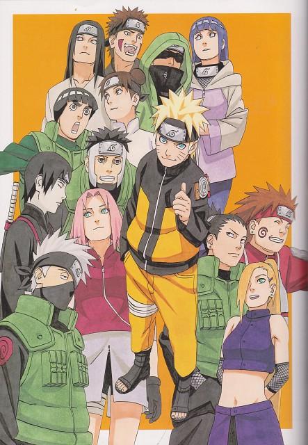 Naruto, Ino Yamanaka, Tenten, Gai , Naruto Uzumaki
