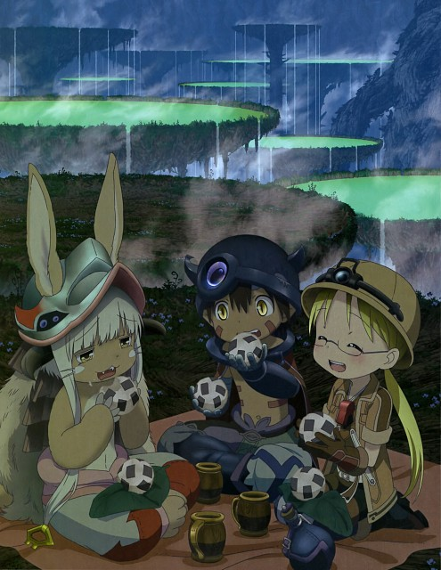 Kinema Citrus, Made in Abyss, Nanachi, Reg, Rico (Made in Abyss)