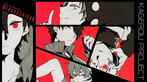Shaft (Studio), Kagerou Days, Kousuke Seto, Shintaro Kisaragi, Hibiya Amamiya Wallpaper