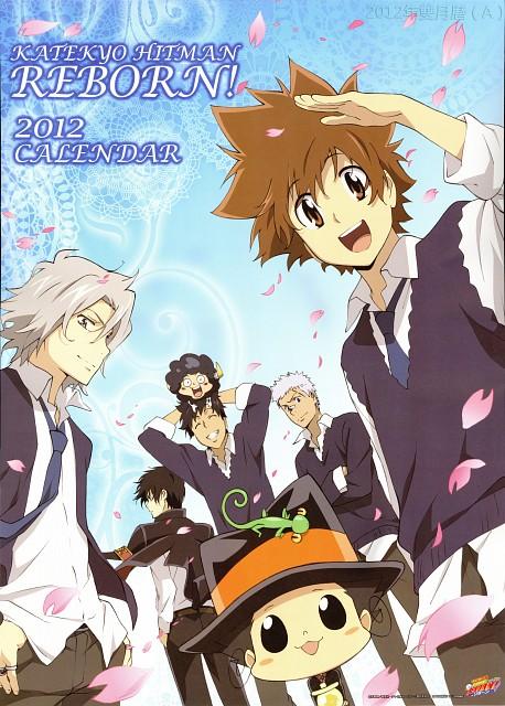 Akira Amano, Artland, Katekyo Hitman Reborn!, Katekyo Hitman Reborn! 2012 Calendar A, Ryohei Sasagawa