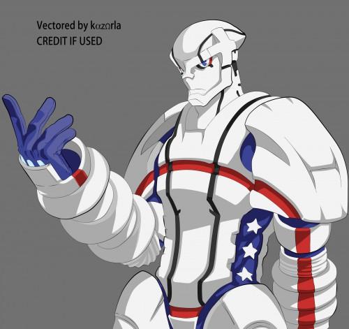 BONES, Heroman, Heroman (Character), Vector Art
