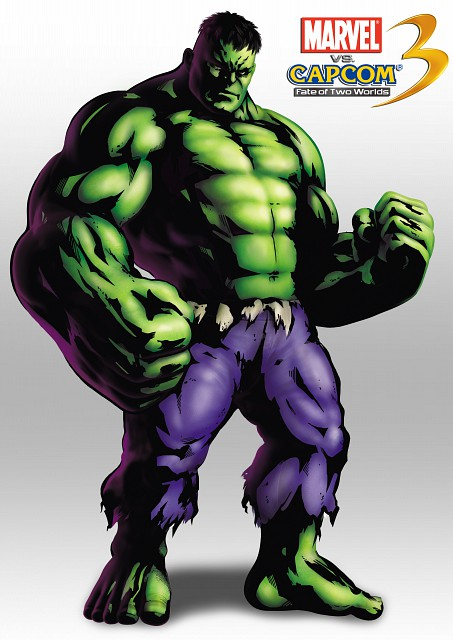 Marvel, Capcom, Marvel vs Capcom 3, The Incredible Hulk