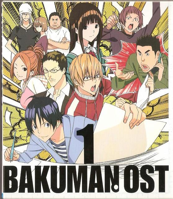 Takeshi Obata, Bakuman, Yuriko Aoki, Miho Azuki, Shinta Fukuda