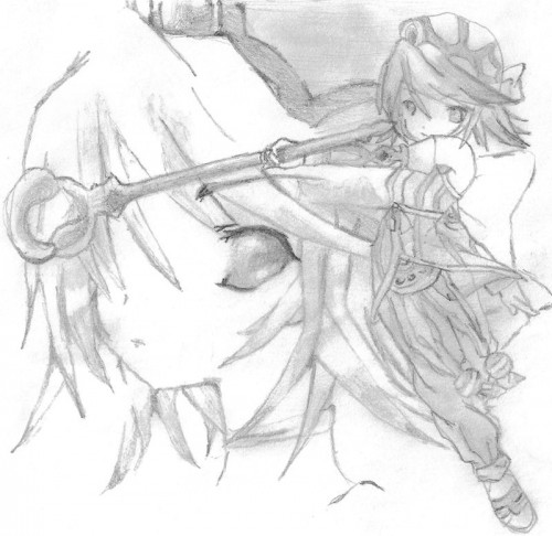 Namco, Tales of Symphonia, Raine Sage, Member Art