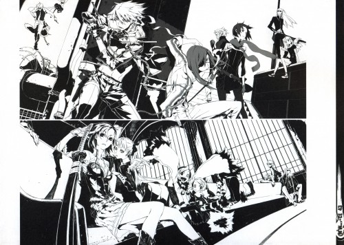 Miwa Shirow, Dogs: Bullets and Carnage, Nill, Mihai Mihaeroff, Haine Rammsteiner
