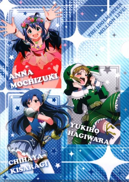 Idol Master: Million Live!, Idol Master, Chihaya Kisaragi, Yukiho Hagiwara, Anna Mochizuki