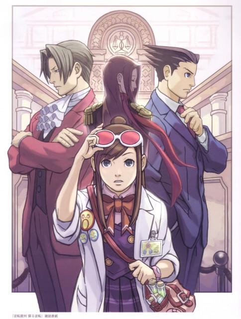 Capcom, Art of Gyakuten Saiban - Naruhodou, Ace Attorney, Ema Skye, Lana Skye