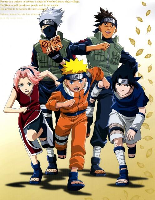 Studio Pierrot, Naruto, Kakashi Hatake, Iruka Umino, Sasuke Uchiha