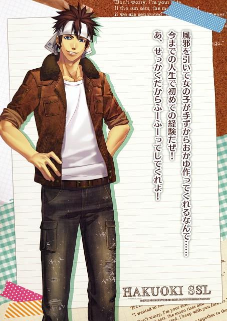 Yone Kazuki, Studio DEEN, Idea Factory, Hakuouki Sweet School Life Official Fan Book, Hakuouki Sweet School Life