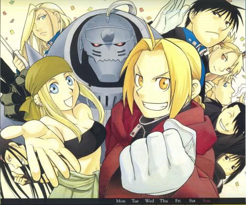 Hiromu Arakawa, BONES, Fullmetal Alchemist, Lan Fan, Roy Mustang