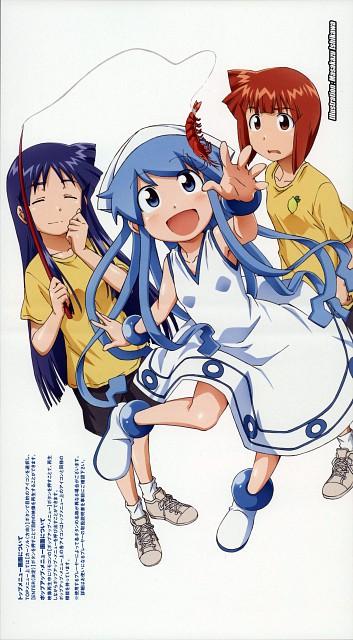 Masahiro Anbe, Shinryaku! Ika Musume, Eiko Aizawa, Ika Musume (Character), Chizuru Aizawa (Ika Musume)