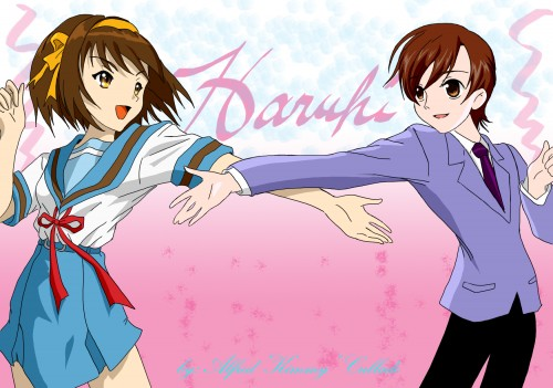 Noizi Ito, Ouran High School Host Club, The Melancholy of Suzumiya Haruhi, Haruhi Fujioka, Haruhi Suzumiya
