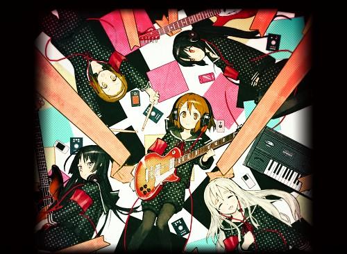 Kakifly, Kyoto Animation, K-On!, Azusa Nakano, Ui Hirasawa