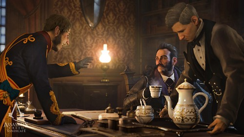 Ubisoft, Assassin's Creed Syndicate, James Brudenell, Crawford Starrick, Game CG