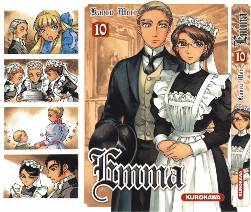 Kaoru Mori, Studio Pierrot, Victorian Romance Emma, Hans (Victorian Romance Emma), Kelly Stowner