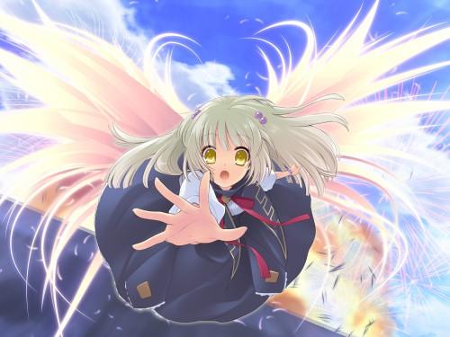 Noizi Ito, UNiSONSHIFT, Flyable Heart, Suzuno Yukishiro, Game CG