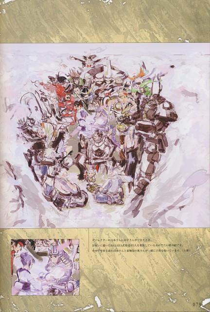 Makoto Tsuchibayashi, Capcom, Design Works, Sengoku Basara, Kenshin Uesugi (Sengoku Basara)