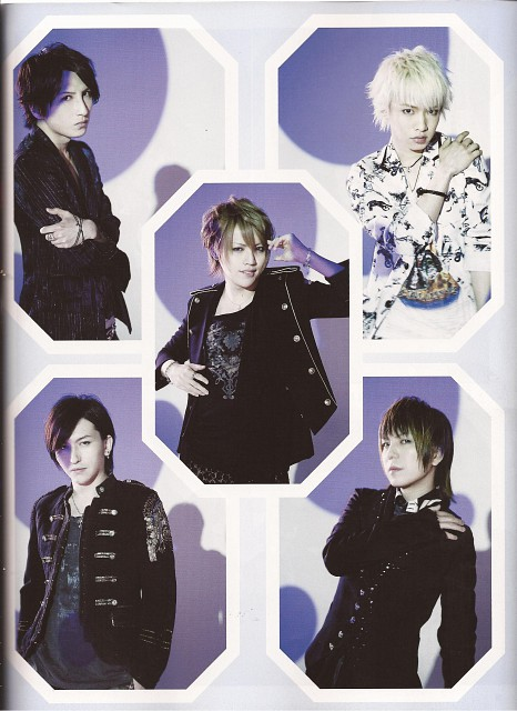 Saga (J-Pop Idol), Nao, Shou, Tora, Alice Nine